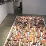 Mary Boone Gallery, Allan McCollum Sculpture Installation, Art Installation Design