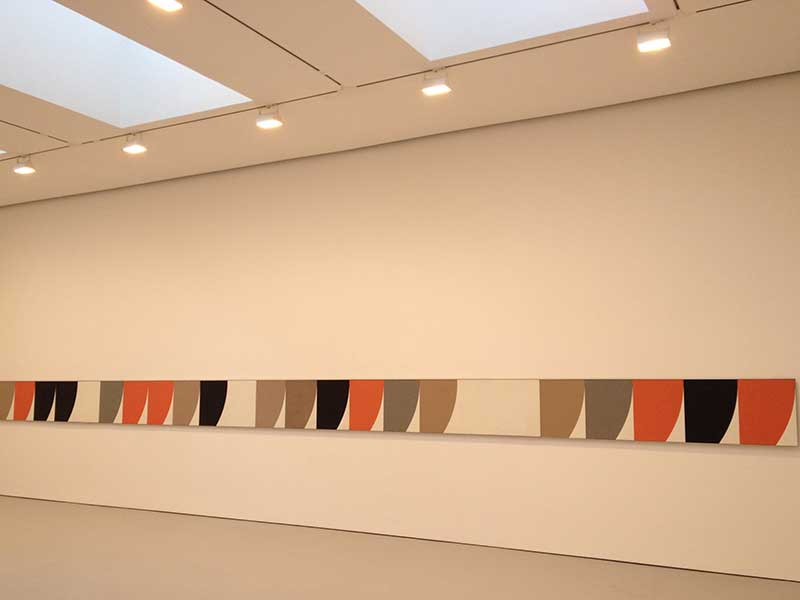 Ellsworth Kelly Installation, Art Installation Design