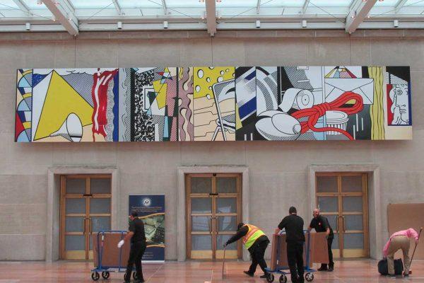 Roy Lichtenstein, State Department, Washington D.C. Art Installation Design