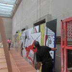 Roy Lichtenstein Greene Street Mural at the U.S. Diplomacy Center FAPE: Art Installation Design