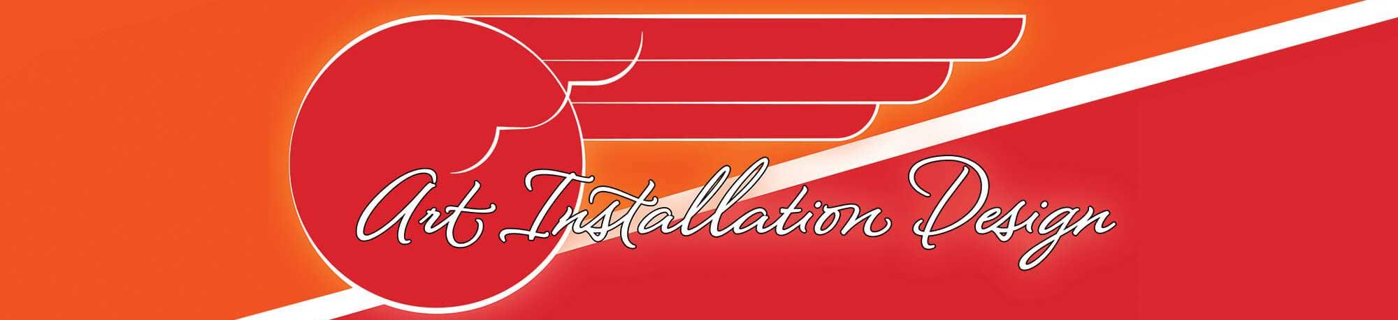 Main Image Logo, Art Installation Design Header