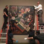 Neue Galerie Installation, Art Installation Design