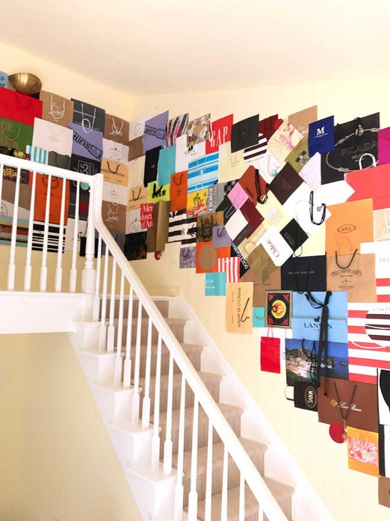 Paper Bag Installation, Art Installation Design