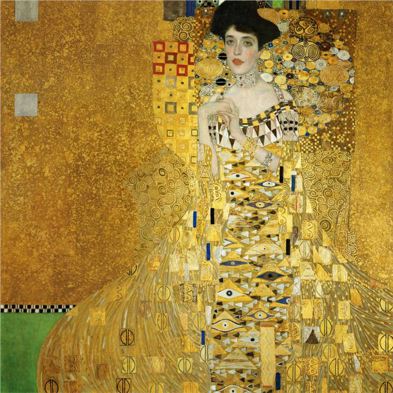 Klimt's Portrait of Adele Bloch-Bauer I at Neue Galerie