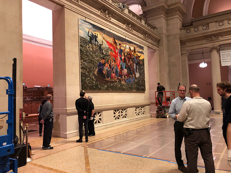 "Kent Monkman ""Resurgence of the People"" Metropolitan Museum of Art, Art Installation Design"